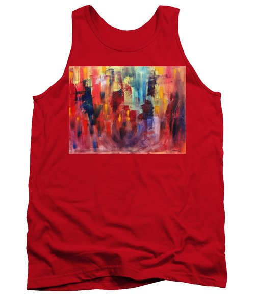Tank Top featuring the painting Untitled #4 by Jason Williamson