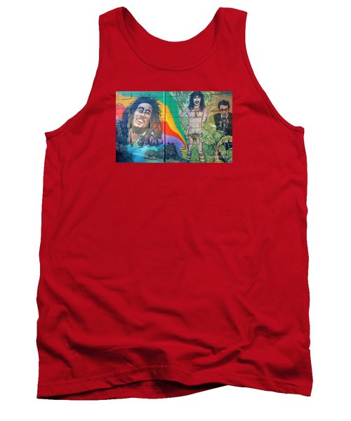 Urban Graffiti 1 Tank Top by Janice Westerberg