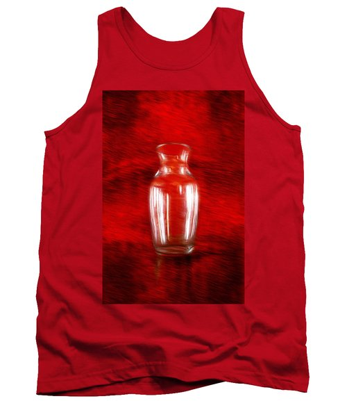 Tank Top featuring the photograph Vase En Rouge by Aaron Berg