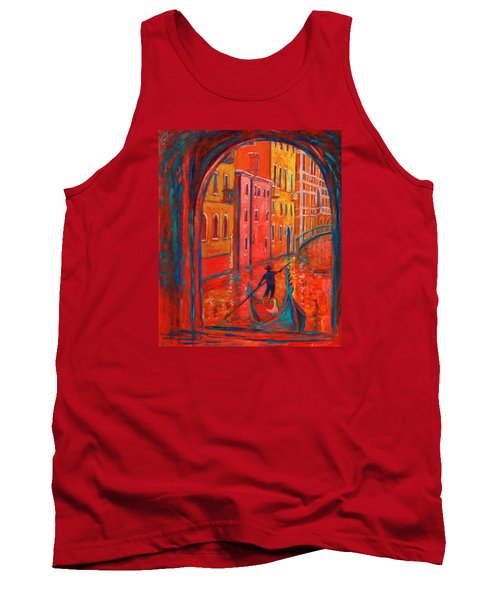 Venice Impression Viii Tank Top by Xueling Zou