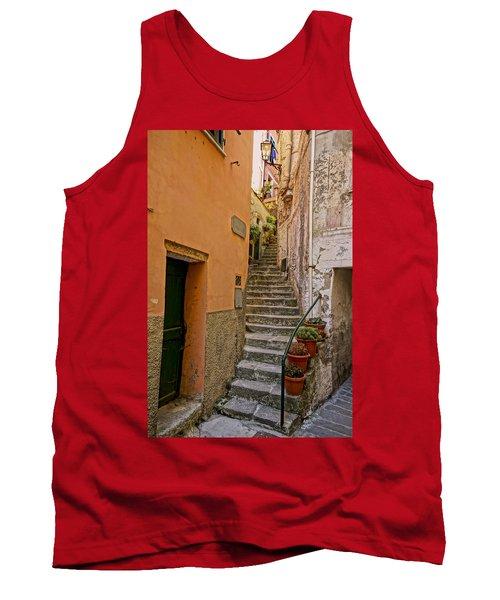 Vicolo Della Valle Riomaggiore Italy Dsc02537  Tank Top