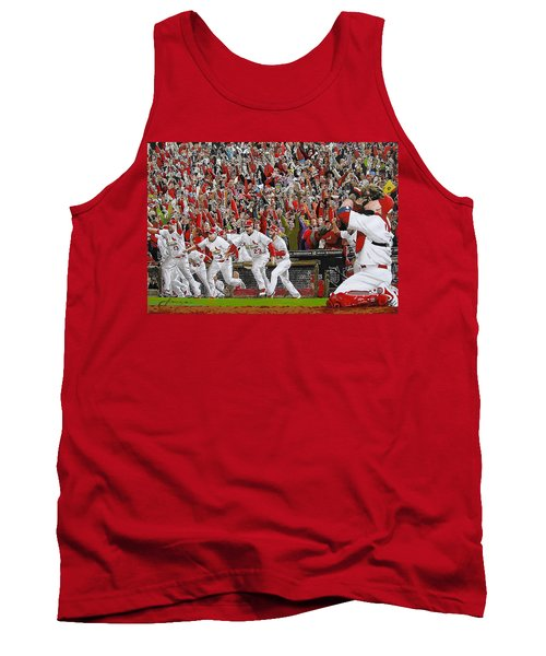 Victory - St Louis Cardinals Win The World Series Title - Friday Oct 28th 2011 Tank Top