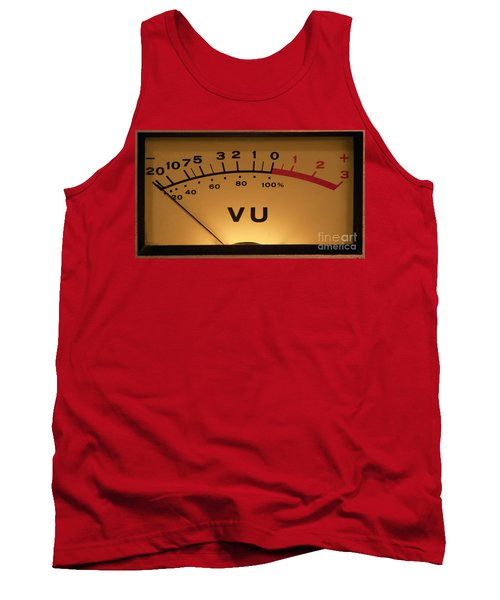 Vu Meter Illuminated Tank Top