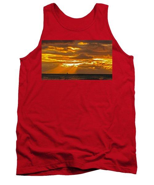 Waikiki Sun Set Tank Top