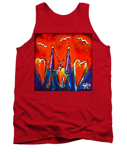 Walk With Me Tank Top by Jackie Carpenter