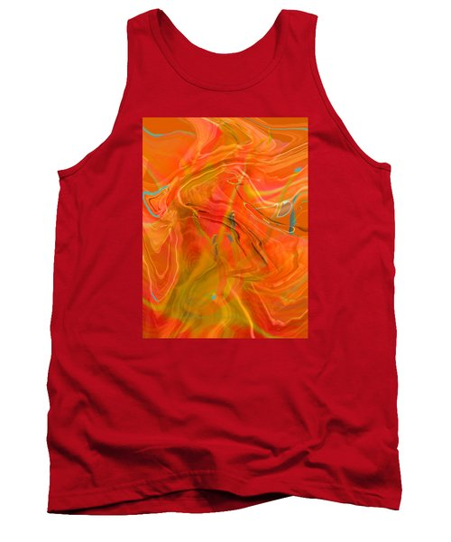 Tank Top featuring the photograph Was A Daylily by Brooks Garten Hauschild