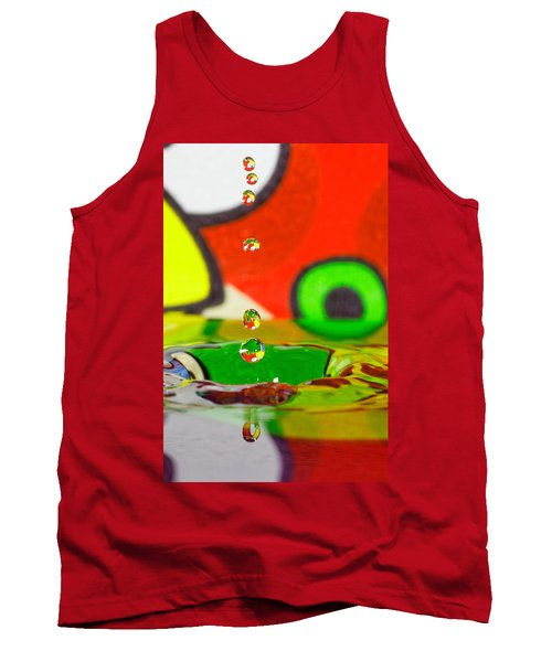 Tank Top featuring the photograph Water Dew by Peter Lakomy