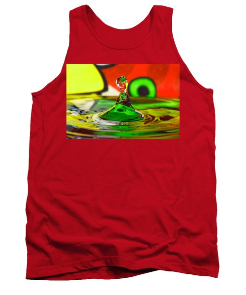 Tank Top featuring the photograph Water Stick by Peter Lakomy
