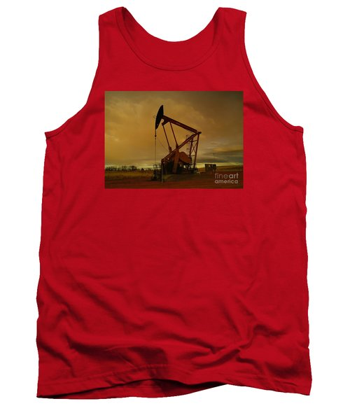 Wellhead At Dusk Tank Top