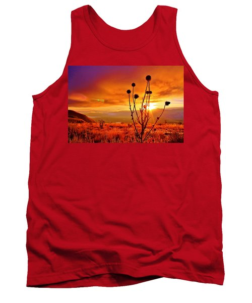 What A Morning Tank Top by Catie Canetti