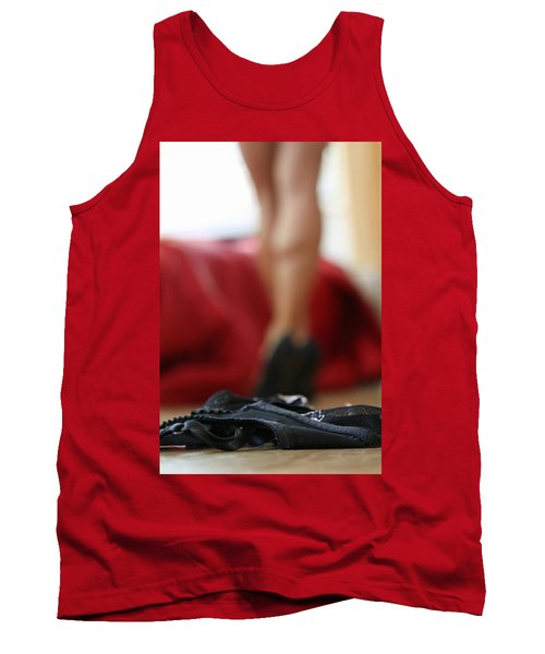 Tank Top featuring the pyrography What's Next? by Shoal Hollingsworth
