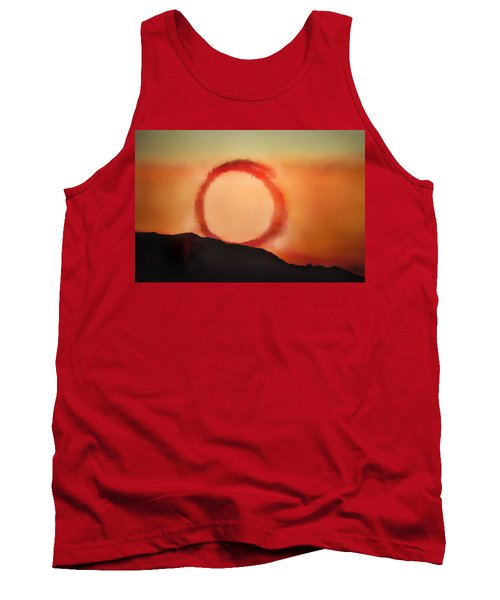 Tank Top featuring the photograph Wheel In The Sky by John Hansen