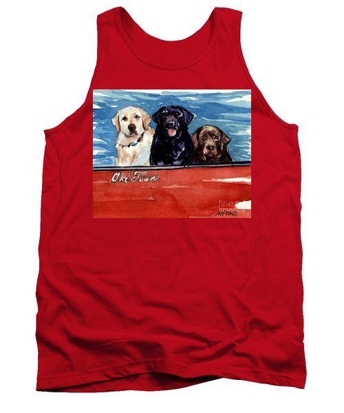 Whole Crew Tank Top by Molly Poole