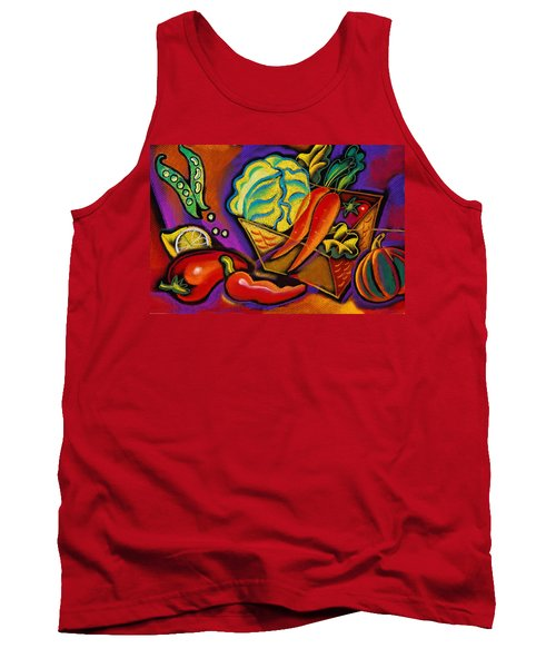 Very Healthy For You Tank Top by Leon Zernitsky