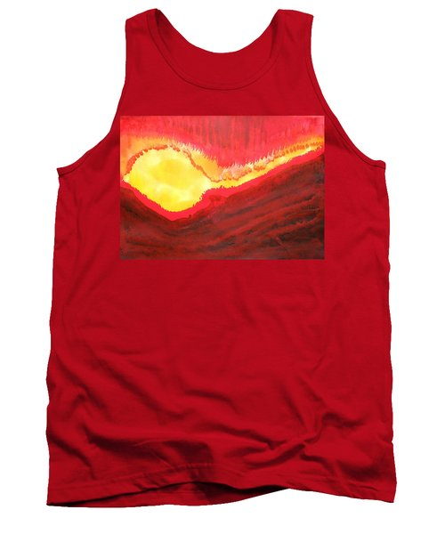 Wildfire Original Painting Tank Top