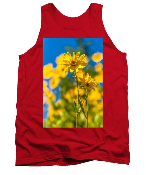 Wildflowers Standing Out Tank Top