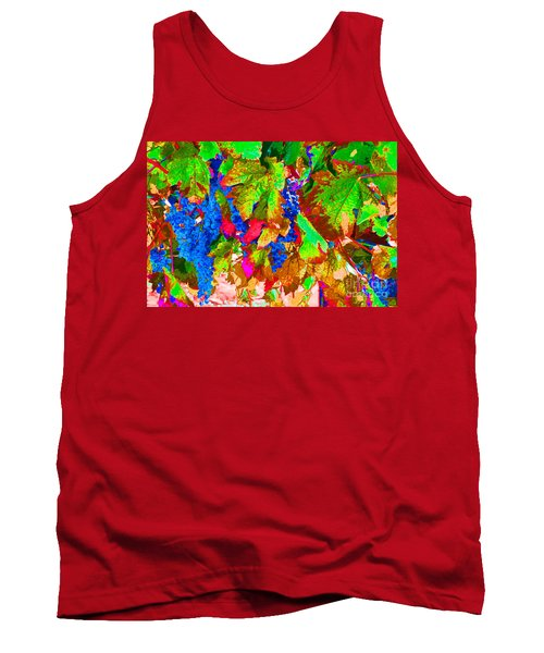 Tank Top featuring the photograph Wine In Time by David Lawson