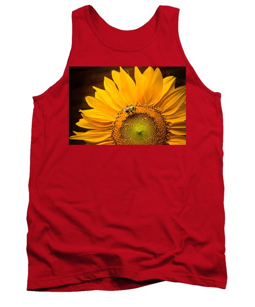 Tank Top featuring the photograph Yellow And Black by Sara Frank