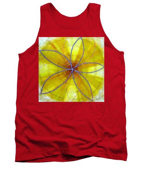 Yellow Chakra Tank Top