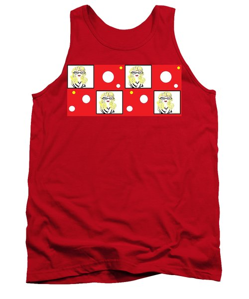 Yuk Tank Top by Ann Calvo