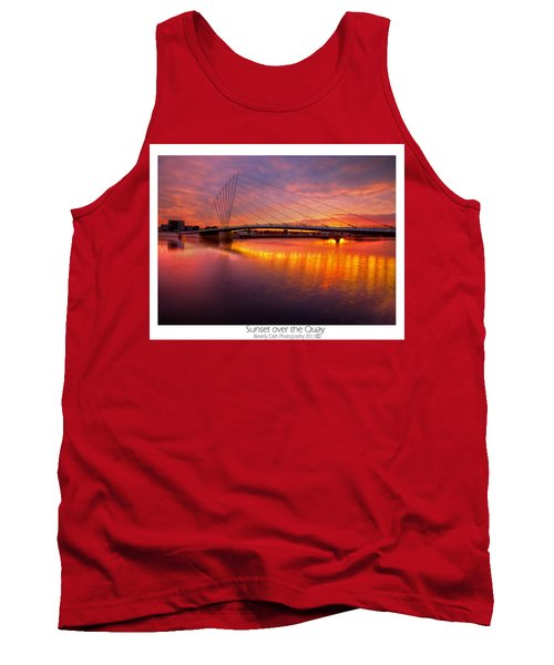 Sunset Over The Quay Tank Top