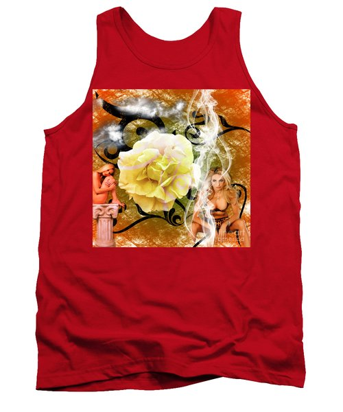 Beauty Tank Top by Clayton Bruster