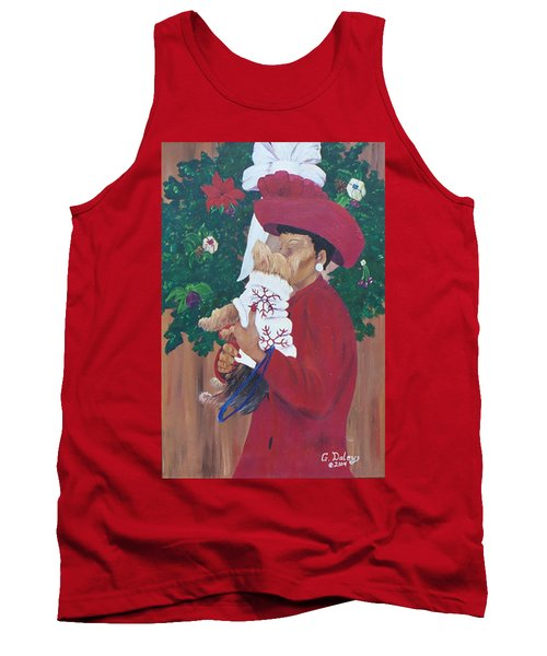 Christmas Lioness Tank Top