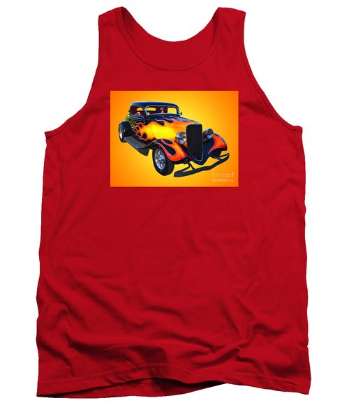1934 Ford 3 Window Coupe Hotrod Tank Top