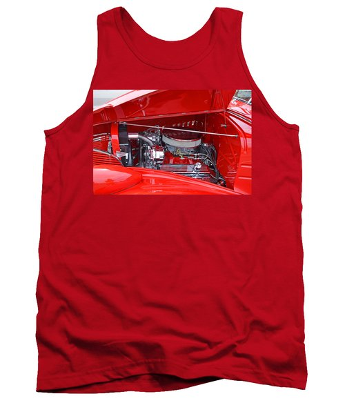 Tank Top featuring the photograph 1938 Chevy Make-over by Paul Mashburn