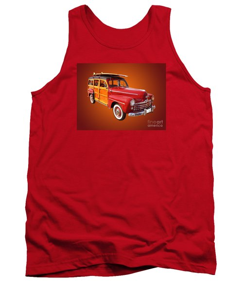 1947 Woody Tank Top by Jim Carrell