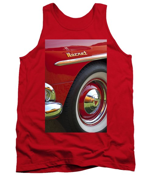 1954 Hudson Hornet Wheel And Emblem Tank Top