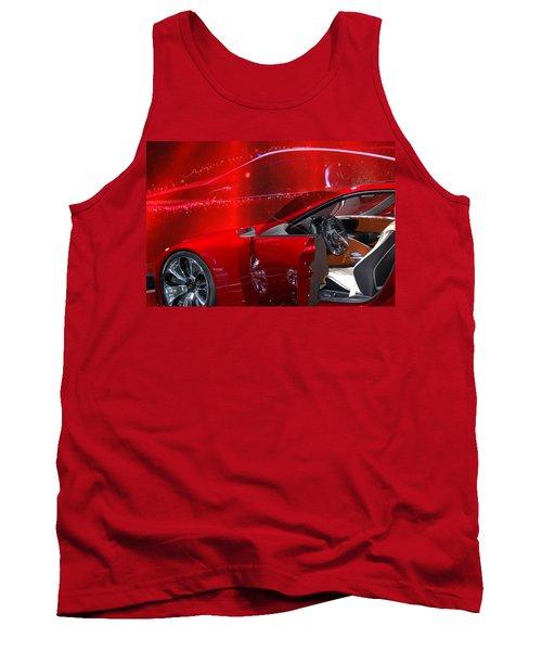2013 Lexus L F - L C Tank Top by Randy J Heath
