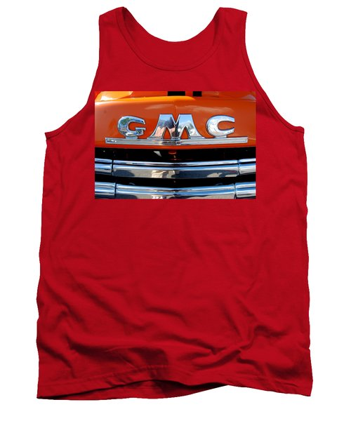 Tank Top featuring the photograph '49 G M C by John Schneider