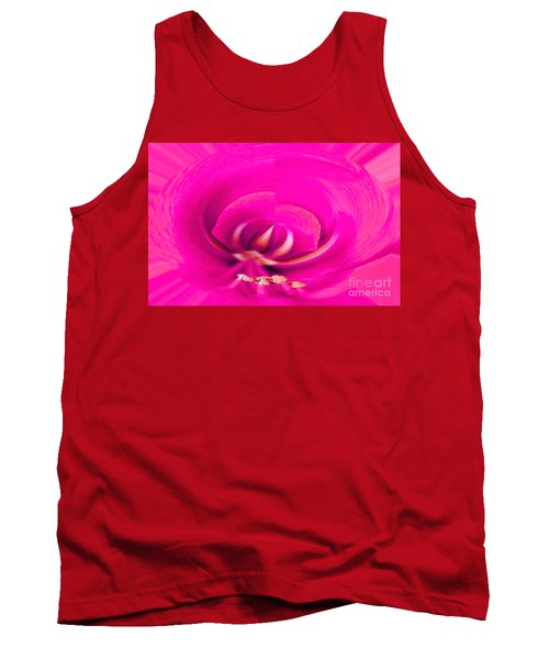 Tank Top featuring the photograph Amaryliss Close-up by Les Palenik