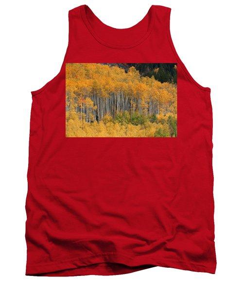 Tank Top featuring the photograph Autumn Curtain by Jim Garrison