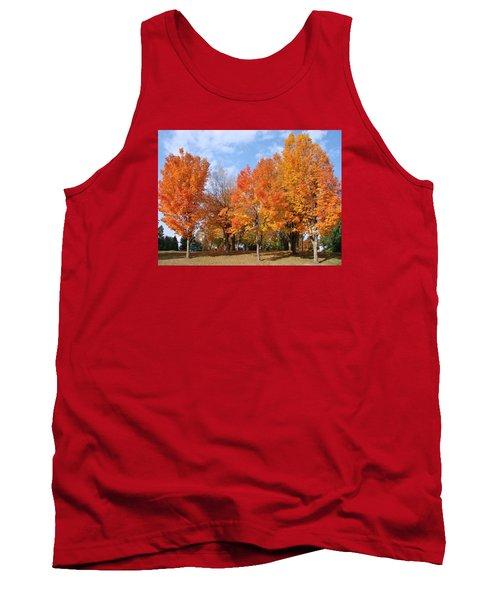 Autumn Leaves Tank Top by Athena Mckinzie
