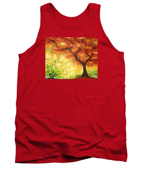 Autumn Rainbow Tank Top