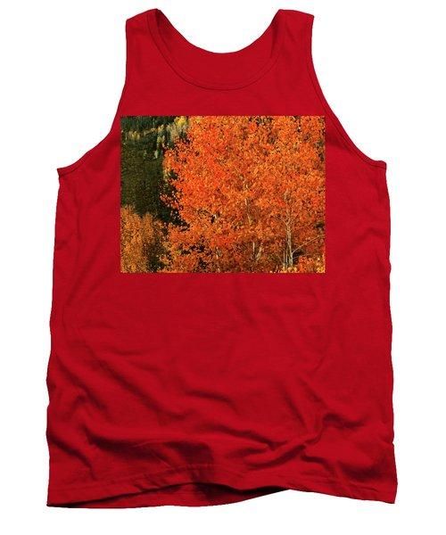 Tank Top featuring the digital art Autumn Splendor by Gary Baird