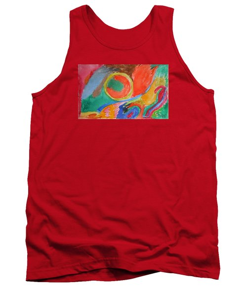 Tank Top featuring the painting Before Conception by Francine Frank