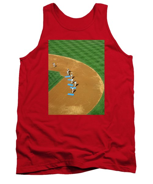 Tank Top featuring the photograph Between Innings by Mike Martin