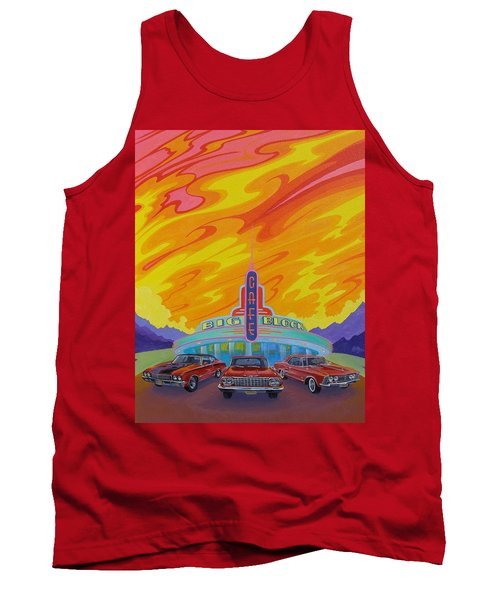 Big Block Cafe Tank Top