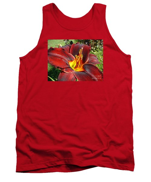 Bleeding Beauty Tank Top by Mark Robbins