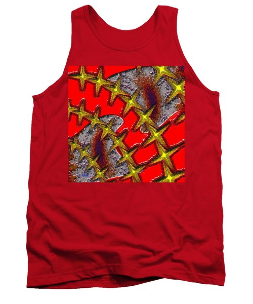 Blood On The Wire Tank Top
