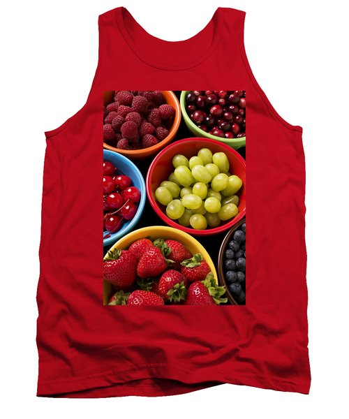 Bowls Of Fruit Tank Top by Garry Gay