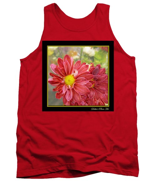 Tank Top featuring the digital art Bright Edges by Debbie Portwood