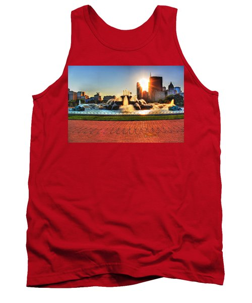 Buckingham Fountain Tank Top