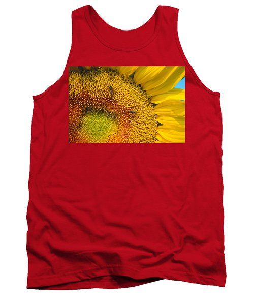 Busy Sunflower Tank Top