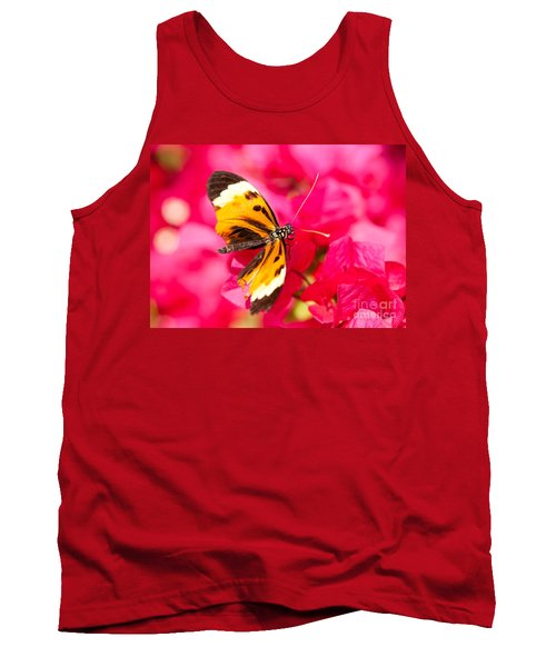 Tank Top featuring the photograph Butterfly by Les Palenik