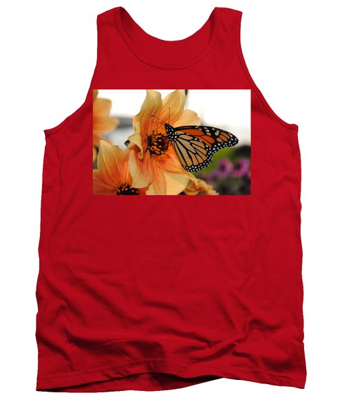 Tank Top featuring the photograph Colors In Sync by Michael Frank Jr