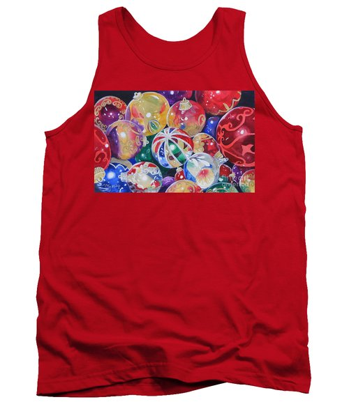 Colors Of Christmas ...sold  Tank Top